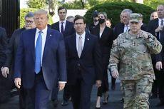 Foto Op Bersama Trump Depan Gereja, Jenderal Ini Akui Kesalahannya