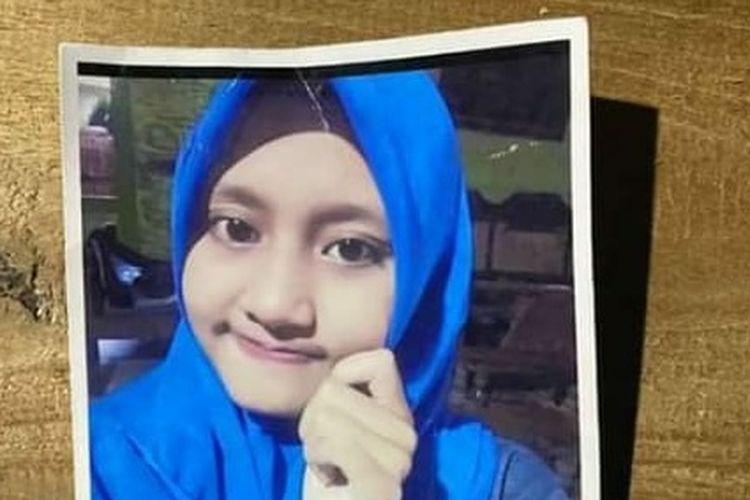 Foto anak perempuan yang diduga hilang/istimewa