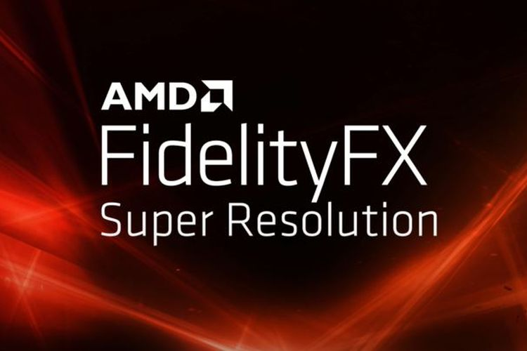 Ilustrasi AMD FidelityFX Super Resolution.