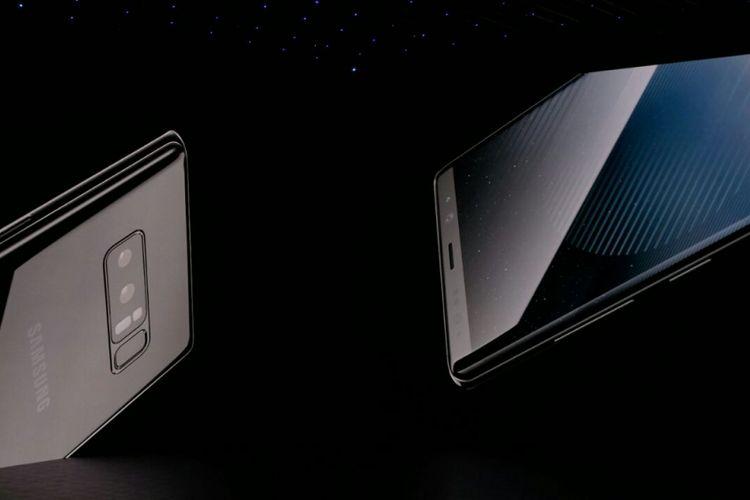 Samsung Galaxy Note 8 resmi meluncur di New York, AS, Rabu (23/8/2017) waktu setempat.