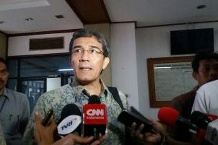 Komisioner Komisi Pemilihan Umum Hadar Nafis Gumay saat ditemui di Kantor KPU Pusat, Jakarta, Rabu (30/9/2015)