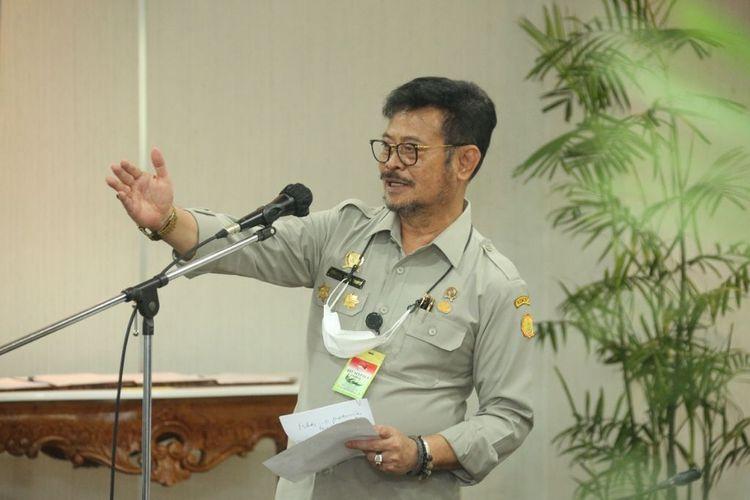 Menteri Pertanian (Mentan) Syahrul Yasin Limpo (SYL).
