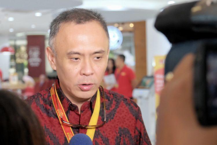 CEO Indosat Joy Wahyudi