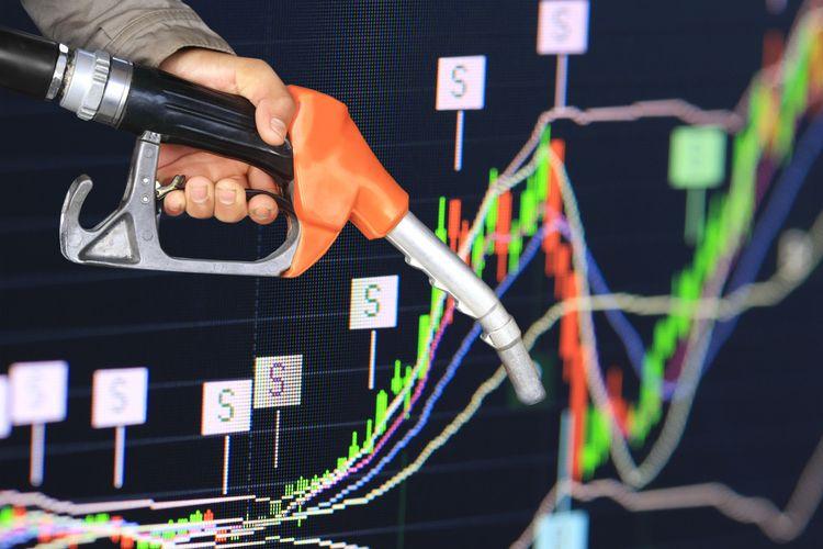 Ilustrasi kenaikan harga minyak dunia