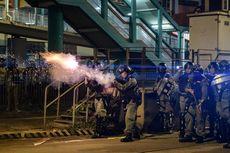 Polisi Hong Kong Klaim Temukan Benda Diduga Bom selama Aksi Protes