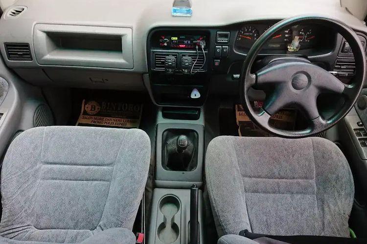 Ilustrasi interior Chevrolet Tavera
