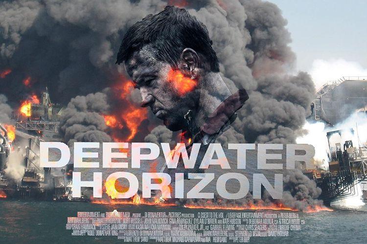Film Deepwater Horizon yang rilis tahun 2016. Film ini diangkat dari kisah nyata ledakan kilang minyak lepas pantai terbesar dalam sejarah Amerika