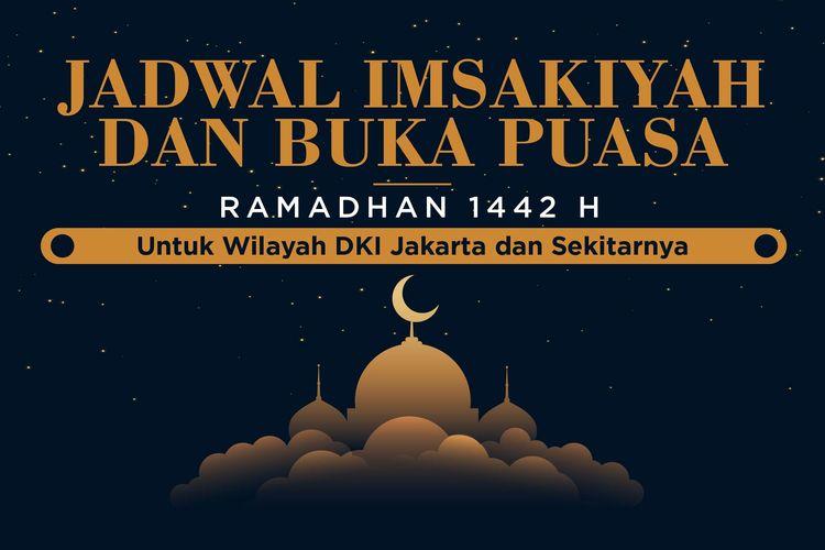 Jadwal Imsakiyah dan Buka Puasa Ramadhan 1442H/2021 untuk Wilayah DKI Jakarta dan Sekitanya