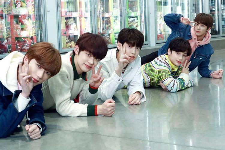 Boyband pendatang baru bentukna Big Hit Entertainment, TXT.