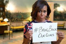 Michelle Obama Kecam Penculikan di Nigeria