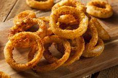 Resep Onion Ring ala Burger King, Renyah dan Padat