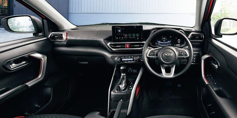 Desain interior Daihatsu Rocky, SUV kecil yang telah meluncur di Jepang.