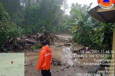 Banjir Bandang di Puncak Bogor, 900 Jiwa Terdampak dan Diungsikan