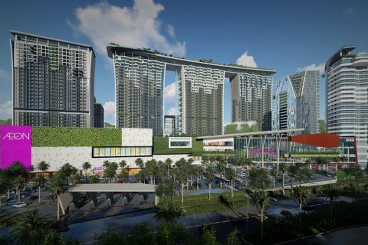 PT Sentul City Tbk secara resmi melepas kepemilikan di AEON Mall Sentul City kepada PT AEON Mall Indonesia.