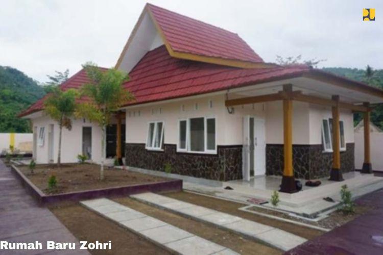Rumah baru Lalu Muhammad Zohri