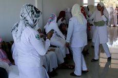 Gaji Tertunggak 4 Bulan, Perawat dan Bidan Honorer RSUD Nagan Raya Unjuk Rasa