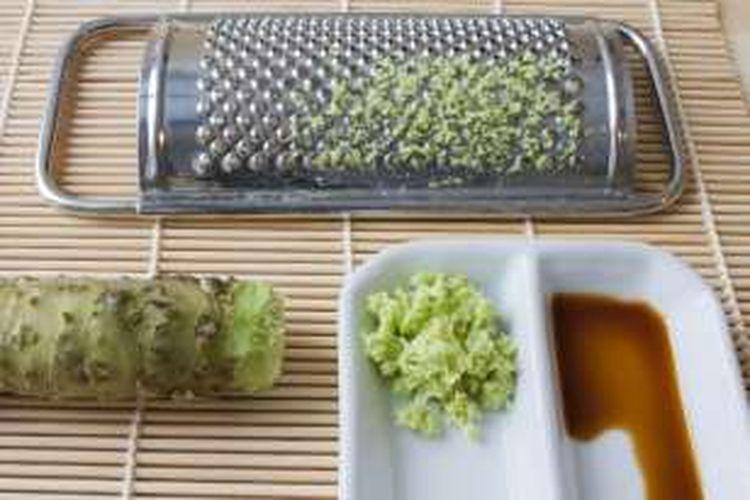 Wasabi dan shoyu