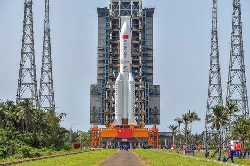 China Tuding AS Tebar Ketakutan soal Roket Long March 5B