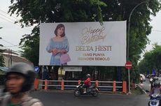 Beri Kejutan Istri, Crazy Rich Surabaya Pasang Baliho Ucapan Ulang Tahun di Perempatan Jalan