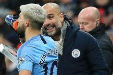 Pep Terangkan Adu Mulutnya dengan Aguero Saat laga Man City Vs Tottenham