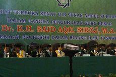 Said Aqil Siradj Dikukuhkan sebagai Guru Besar Ilmu Tasawuf