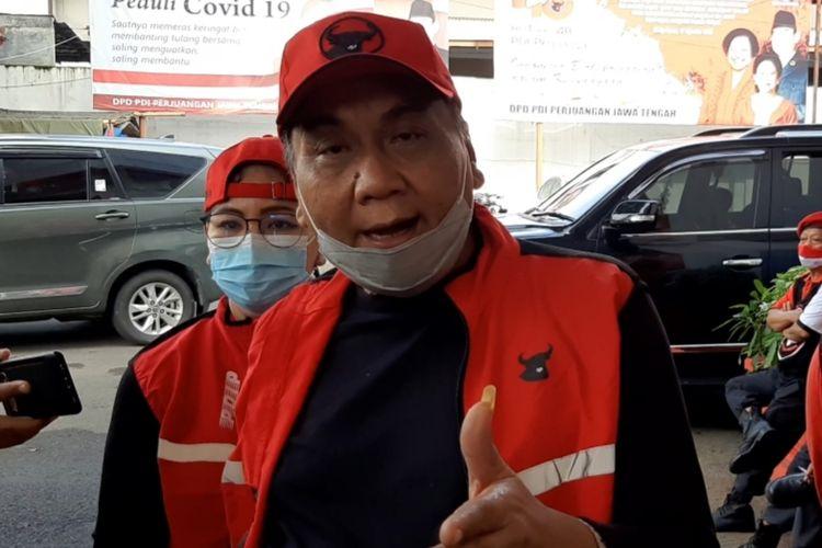 Ketua DPP PDIP Bidang Bidang Pemenangan Pemilu,Bambang Wuryanto