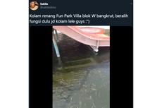 Viral, Video Kolam Renang di Bogor Dijadikan Tempat untuk Ternak Lele