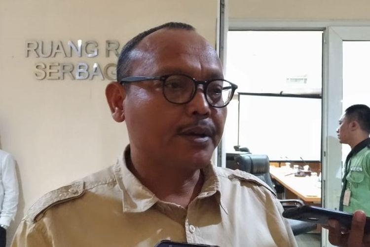 Wakil Ketua DPRD DKI non definitif DPRD Syarif di gedung DPRD DKI Jakarta, Jalan Kebon Sirih, Jakarta Pusat, Senin (2/9/2019)