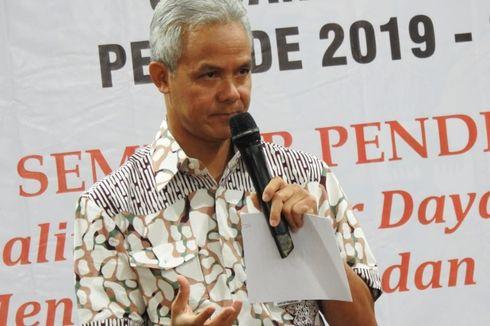 Ganjar Pranowo: Serahkan Saja Pelaku Penusukan Wiranto ke Polisi
