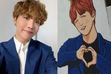 J-Hope BTS Dapat Hadiah Ulang Tahun Mural dari Penggemarnya