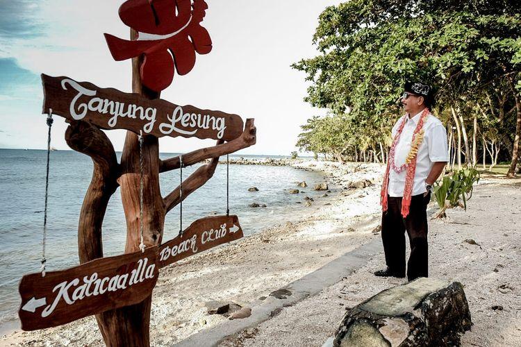 Menteri Pariwisata Arief Yahya saat menghadiri Festival Tanjung Lesung pada 27-29 September 2019