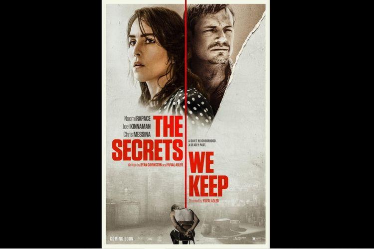 Noomi Rapace dan Joel Kinnaman dalam film drama thriller The Secrets We Keep (2020).