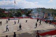 Demo Mahasiswa di Manado Ricuh, Polisi Dilempari Batu