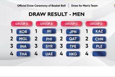 Indonesia Satu Grup dengan Korea di Cabang Bola Basket Asian Games