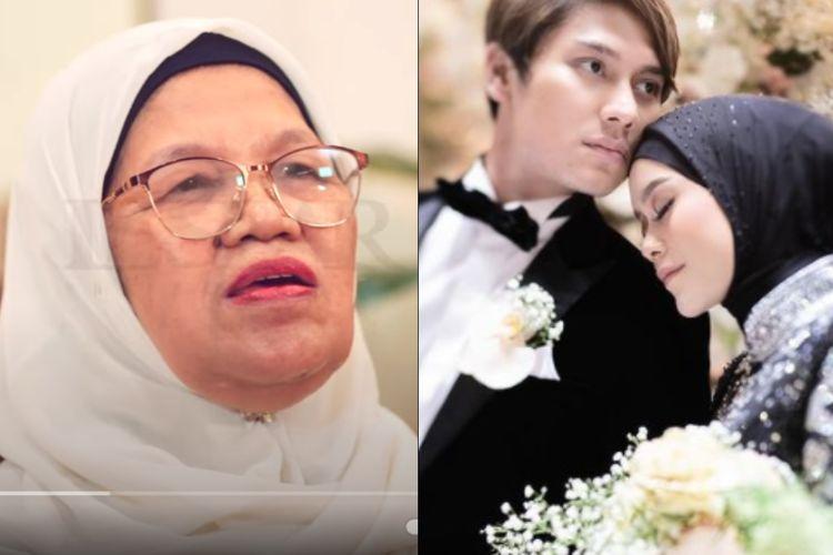Rosmala Dewi (kiri) mengaku sering ditanya orang-orang perihal pernikahan Rizky Billar dan Lesti Kejora (kanan).