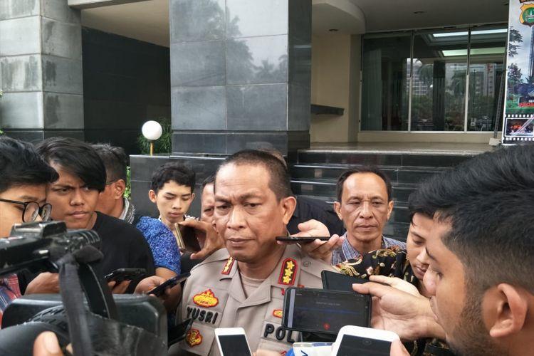 Kepala Bidang Humas Polda Metro Jaya Kombes Yusri Yunus di Polda Metro Jaya, Jakarta Selatan, Jumat (22/11/2019).
