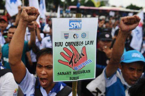KSPI Sebut Buruh Tidak Dilibatkan dalam Pembuatan Draf Omnibus Law