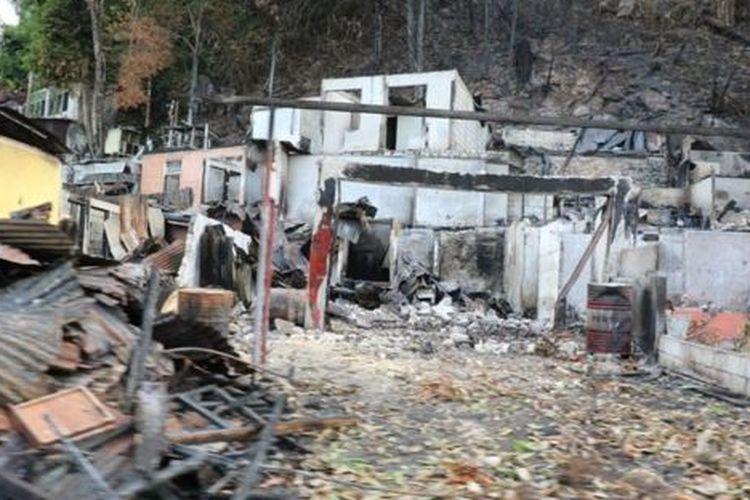 Rumah dan kantor di Jayapura dirusak atau dibakar. Nilai kerugian, menurut Kapolri, mencapai sekitar Rp 20 miliar.