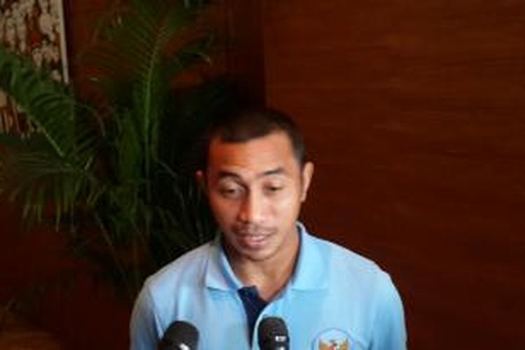 Kapten tim nasional Indonesia, Firman Utina.