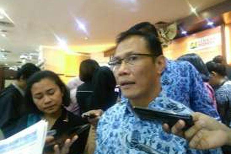 Kepala Badan Pusat Statistik (BPS) Suhariyanto di Jakarta, Senin (3/10/2016).