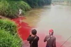 Saat Cairan Limbah Pabrik Pengolahan Sampah Plastik di Sungai Cisadane Disebut Tak Berbahaya
