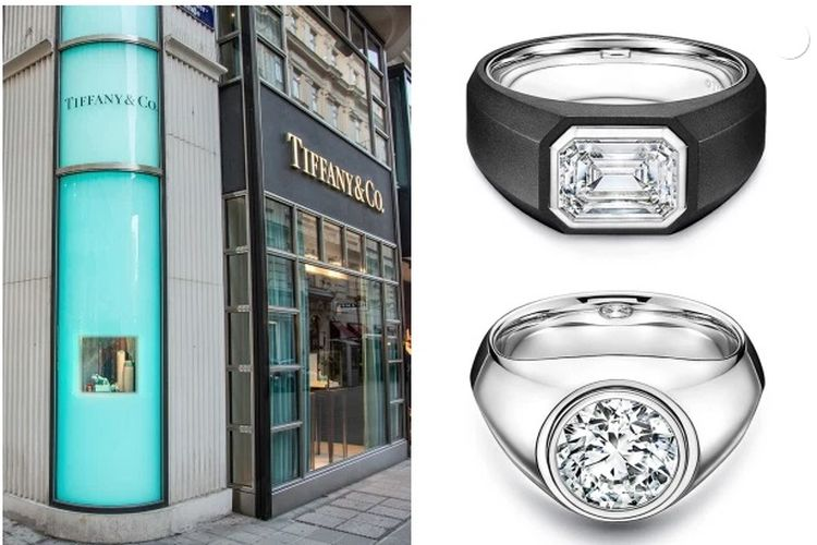 Tiffany & Co Men Engagement Ring