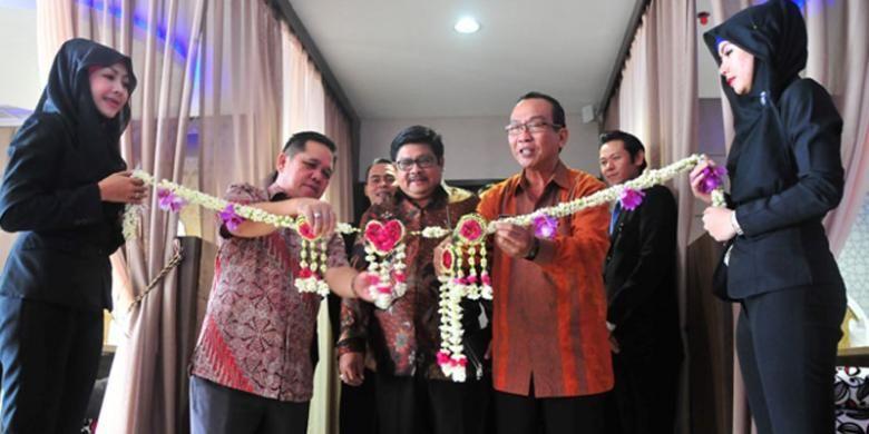 Trial Opening Q Grand Dafam Banjarbaru, Kalimantan Selatan, Kamis (7/8/2014). Q Grand Dafam Banjarbaru merupakan hotel ke-13 yang beroperasi di bawah jaringan Dafam Hotels.