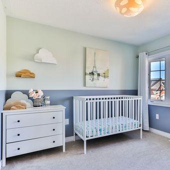baby bedroom illustration