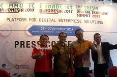 Membangun Ekonomi Digital Indonesia di Communic Indonesia dan Broadcast Indonesia 2017