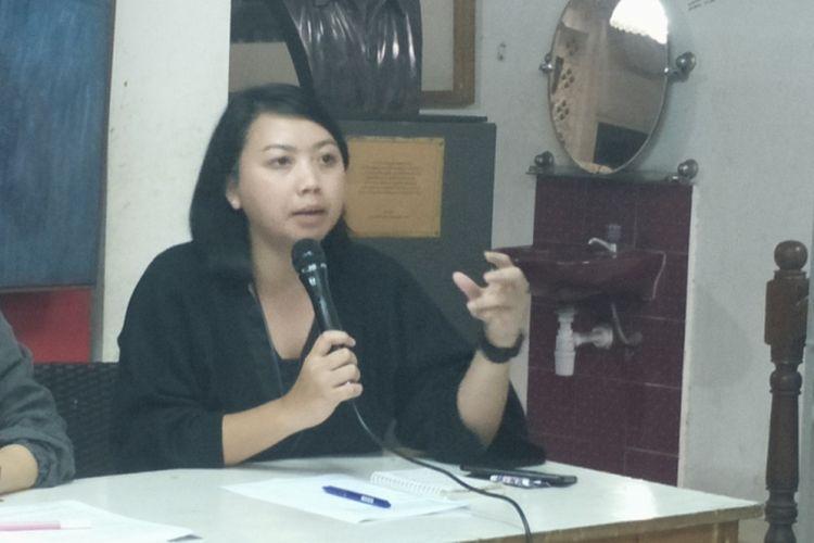 Kepala Divisi Hukum dan Advokasi Kontras Putri Kanesia