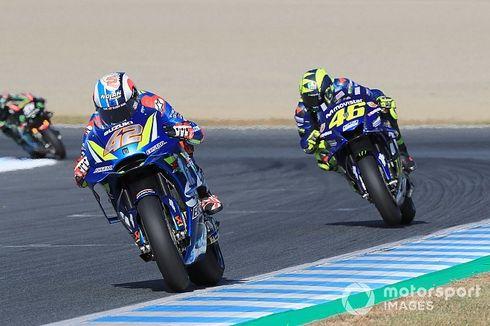 Rossi Sebut Suzuki Sudah Lebih Bagus dari Yamaha