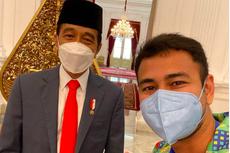 Unggah Foto Bersama, Raffi Ahmad: Selamat Ulang Tahun, Pak Jokowi