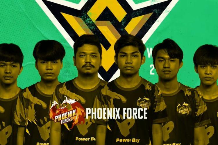Tim e-sports Phoenix Force.