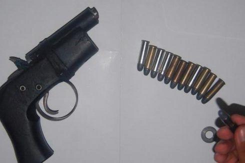 Polisi Tangkap 6 Orang yang Memiliki dan Jual 4 Senpi Ilegal dan 12.000 Peluru